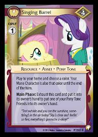 My Little Pony Singing Barrel Equestrian Odysseys CCG Card