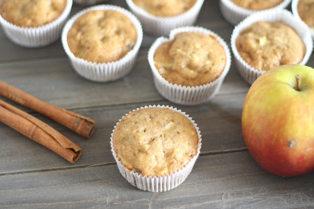 Fleur et Fatale Blog zeigt Rezept für Apfel Zimt Muffins