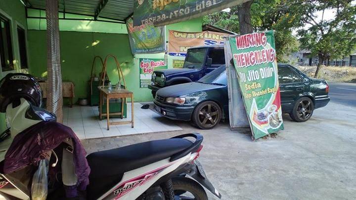 Makanan Lokal Indonesia tengkleng solo dlidir