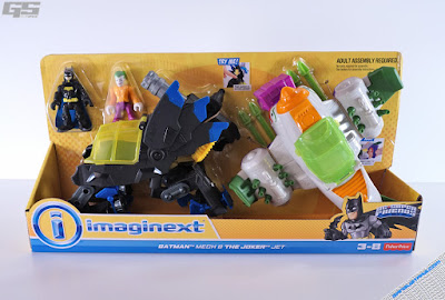 Imaginext DC Super Friends DC Super Friends Batman Mech & the Joker Jet