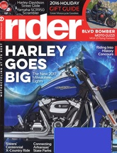 Image: free subscription to Rider magazine