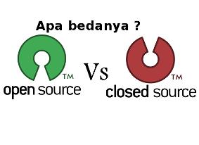 Perbedaan Open Source dan Closed Source Pada Sistem Operasi