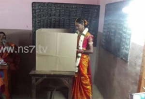 TN election polling in Social Media