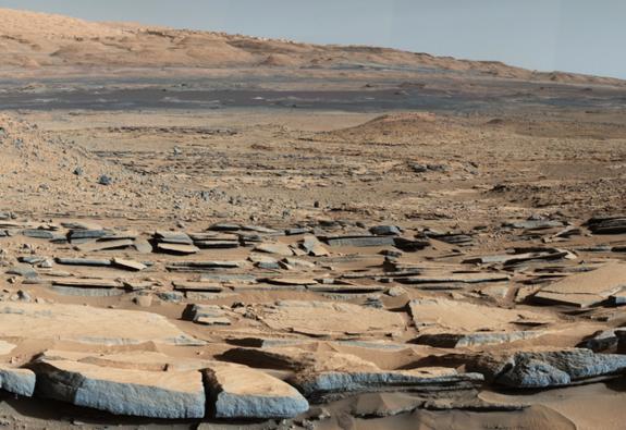 Danau Kering Di Planet Mars