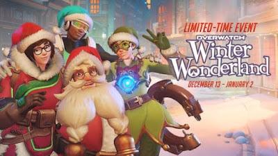 """שחקני Overwatch מקבלים 5 קופסאות """"Winter Wonderland"""" בחינם"""