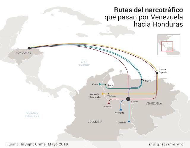 Honduras y Venezuela: Golpe de Estado y tráfico aéreo de cocaína