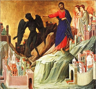 Resultado de imagem para Jesus é tentado