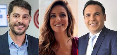 Evaristo Costa, Monalisa Perrone e Reinaldo Gottino serão apresentadores de programas da CNN Brasil