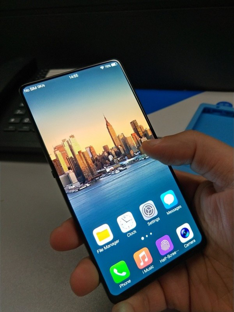 Vivo's alleged upcoming flagship with tiny bezels and no notch leaked!