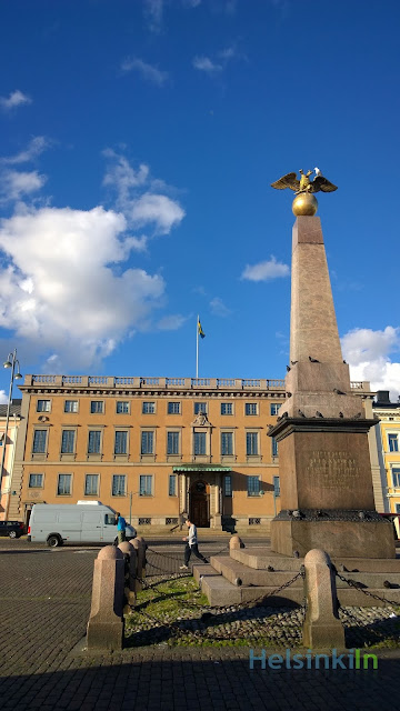The Stone of the Empress and the Embassy of Sweden