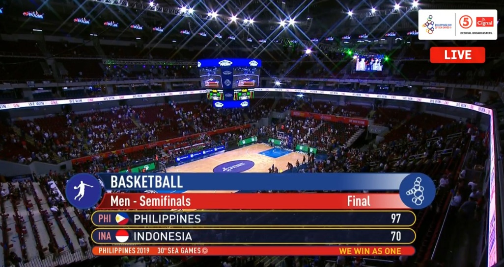 Gilas Pilipinas def. Indonesia, 97-70 (HIGHLIGHTS) Semifinals | December 9 | SEA Games 2019