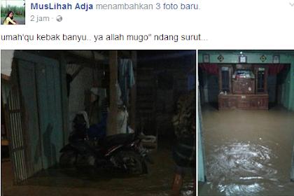 Bencana Banjir Bandang Di Desa Terteg Dan Sekitarnya Kecamatan Pucakwangi Kabupaten Pati