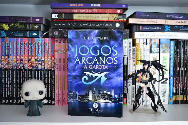 [Resenha] Jogos Arcanos: a garota - T. F. Carvalho