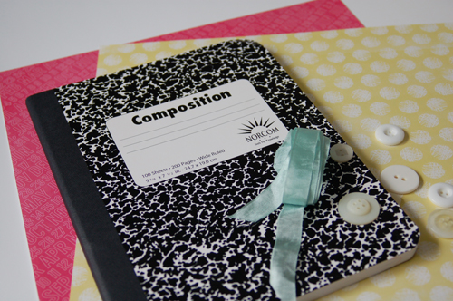 Make It Meaningful Altering A Composition Notebook Jen Gallacher