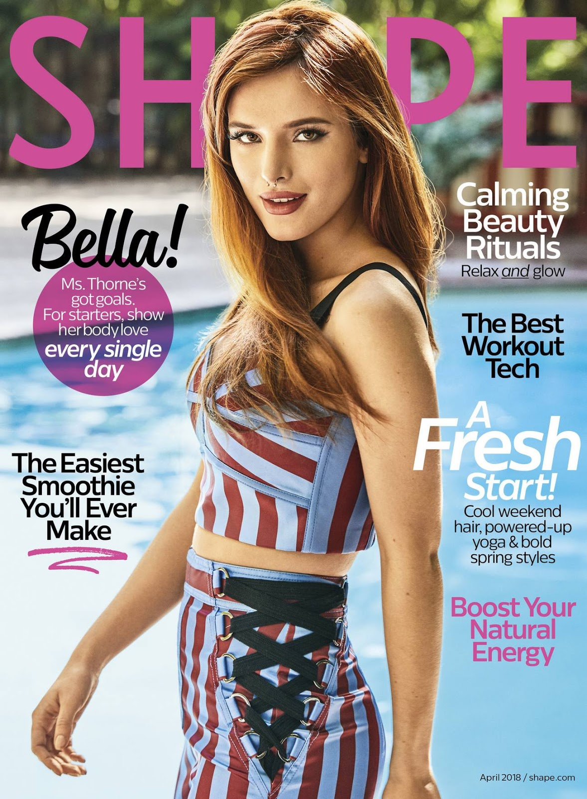 Bella Thorne – Shape Magazine April 2018
