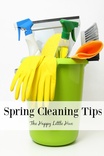 The Happy Little Hive: Spring Cleaning Tips