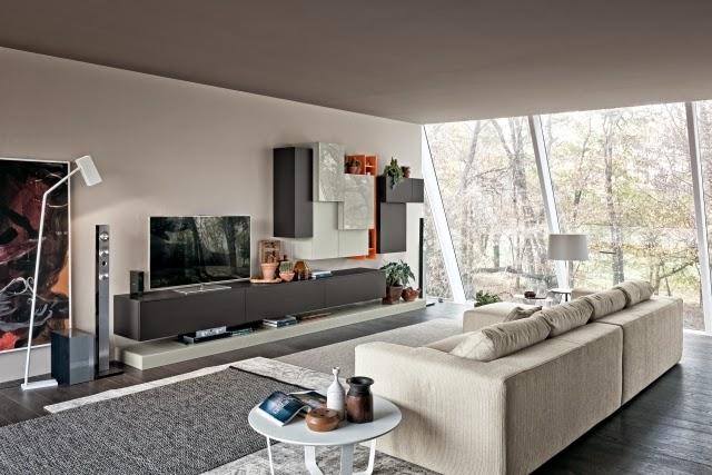 salón elegante moderno