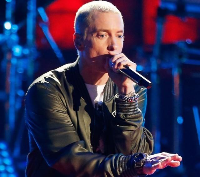 Eminem é a atração principal do palco Skol no sábado (12) do palco Skol às 21h30 (foto: divulgação - blog lulu on the sky)
