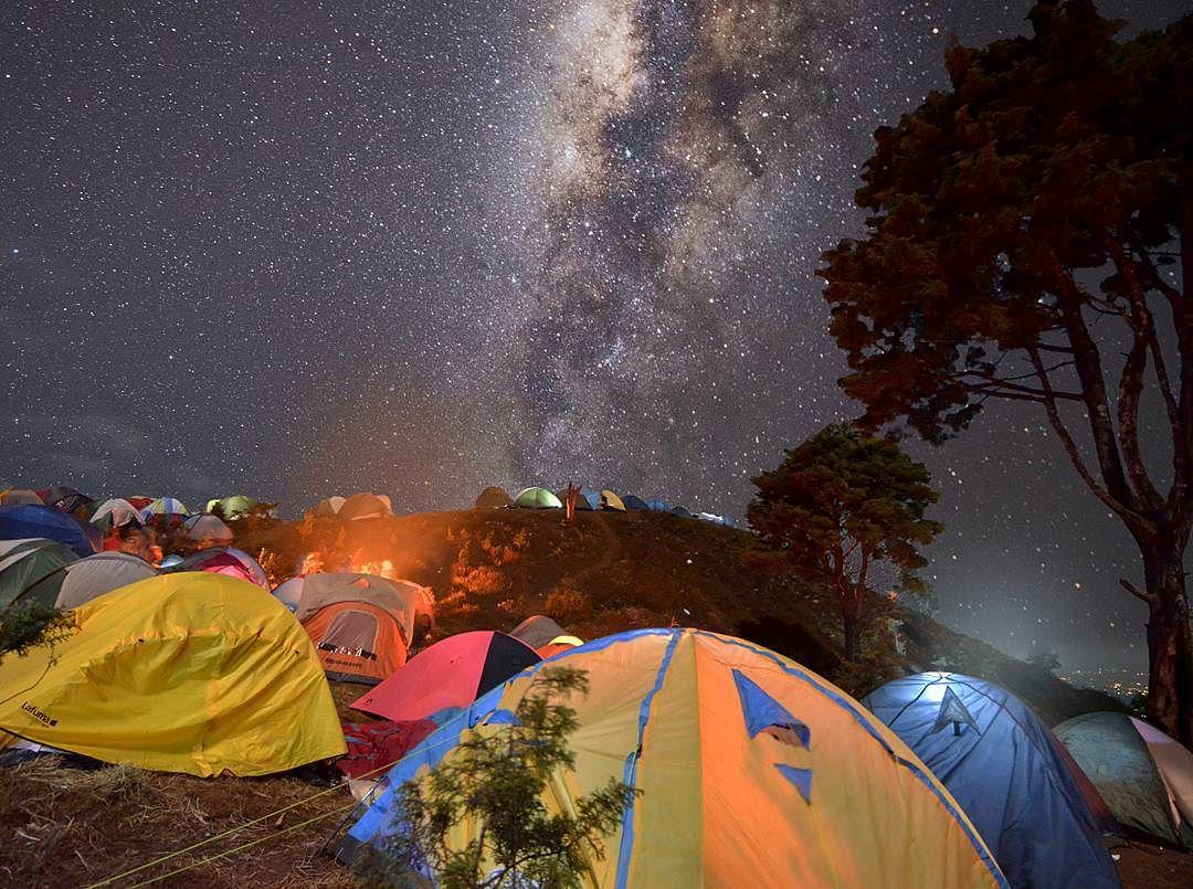Milkyway Gunung Prau Dieng by @linggabinangkit