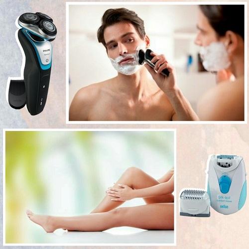 Máquinas de afeitar y depilar electrónicas