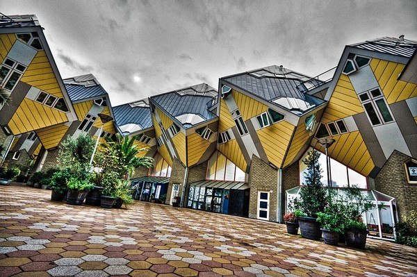 Cube Houses Netherlands, Unique Homes