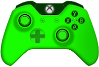 green xbox one controller