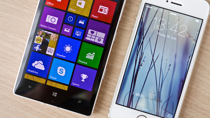 Nokia Lumia 930 vs iPhone 5S