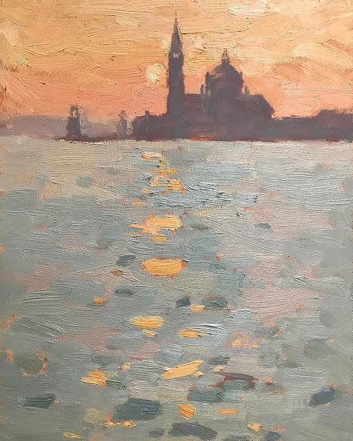 #246 'Sunrise, San Giorgio Maggiore' 8×10″