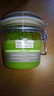 Meeressalz-Öl-Peeling