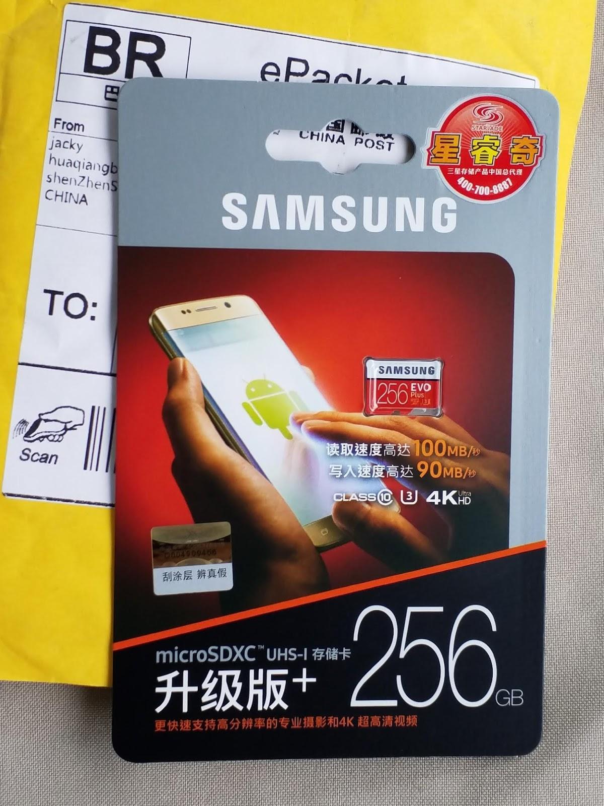 Testanto O Capsule Wardrobe Pela Primeira Vez: Testando O MicroSD Samsung EVO Plus De 256GB » Rk Blog