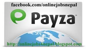 Receive and send your online earned money by payza in Nepal