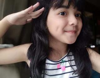 Anantya Rezky Kirana Selfie