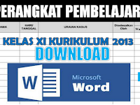Perangkat Pembelajaran Kelas XI K13 Revisi 2018 Lengkap Semester 2