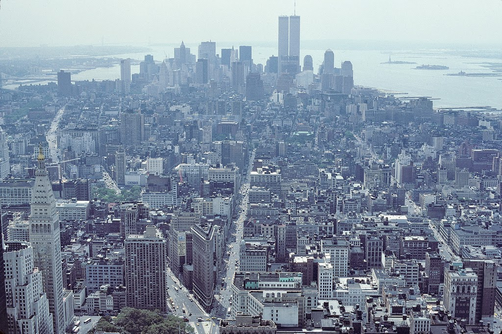 New York City Of 1986 Vintage Everyday