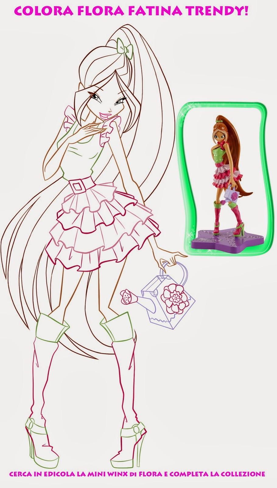 Winx Club 5 Imagens Para Colorir Winx Club Epis 243 Dios