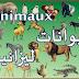 تعلم اسماء الحيوانات بالفرنسية مترجمة للعربي + كيفية نطقها