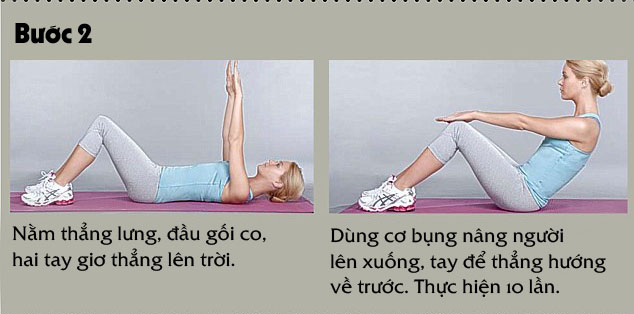 bài tập thể dục giảm mỡ bụng giảm cân hiệu quả nhất