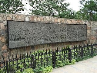 Mural of 2nd Battle of Panipat