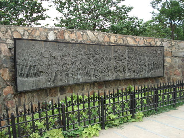 Mural of 2nd Battle of Panipat