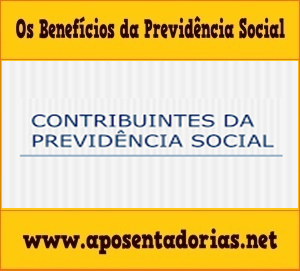 Os Tipos de Contribuintes da Previdência Social.