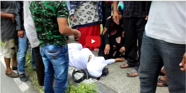Kasihan!! Usai Dibonceng Teman Prianya, Siswi SMK Ditemukan Tak Berdaya di Pinggir Jalan...