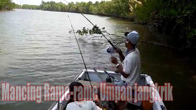 Mancing Ikan Baung pake Jangkrik