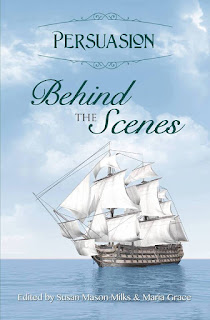 Book cover: Persuasion Behind the Scenes by the Austen Variations Authors