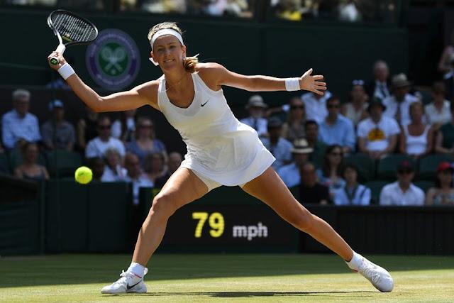 Azarenka akishiriki ubingwa wa U.S Open awali.Picha kwa hisani