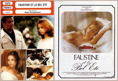 Фостин и прекрасное лето / Faustine et le Bel Été. 1972.