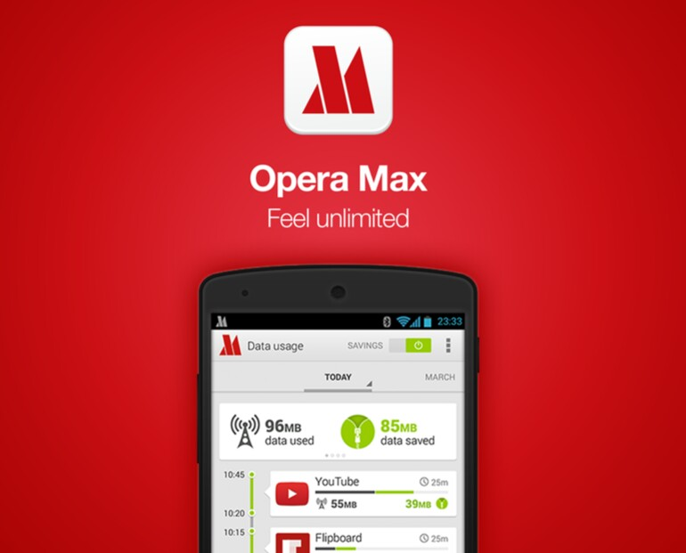 Get daily 20MB internet ticket on Grameenphone By Opera Max
