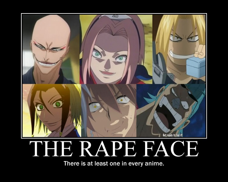 rape face meme anime - photo #15