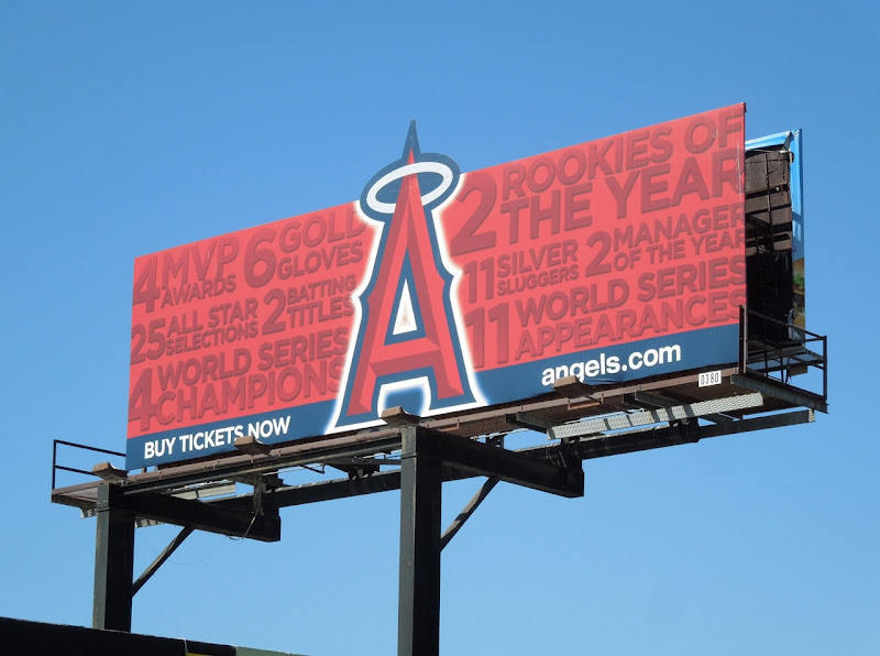 Anaheim Angels extension baseball billboard