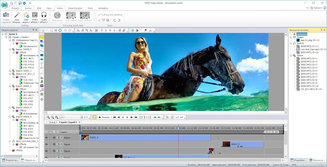 VSDC free video editing software for windows 10