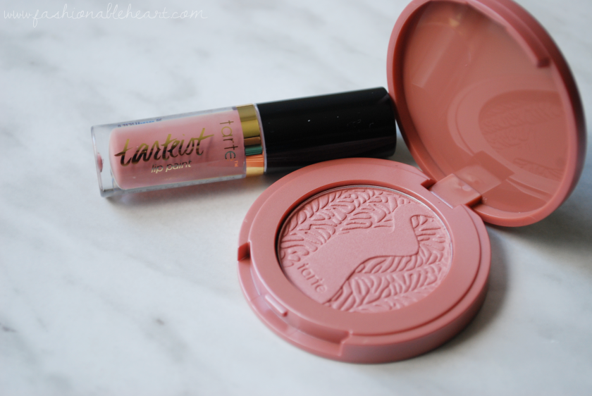 bbloggers, bbloggersca, canadian beauty bloggers, beauty blog, sephora, birthday gift, tarte, tartelette, tarteist, 2017 gift, beauty insider, amazonian clay blush, paaarty, lip paint, birthday suit, review, swatches, free gift
